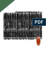 INTRODUCTION SUR LE MARCHE DE TRAAVAIL