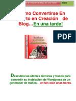 Como Convertise en Experto en Creacion de Blog Revisado 28-02-10