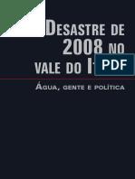cap02-livroDesastre2008_JUARES, SEVEGNANI, TACHINI, BACCA