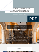 Tipología de la vivienda del centro histórico - Greisy