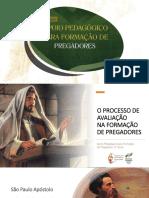 Apoio Pedagógico Pregadores 04 - O processo de avaliação