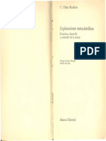 Moulines, C. Ulises - Exploraciones Metacientíficas. Estructura, Desarrollo y Contenido de La Ciencia-Alianza Editorial (1982)