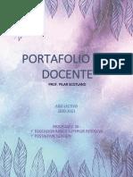 Portafolio Docente 2020-2021