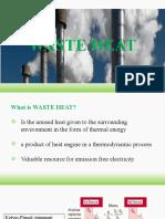 Waste Heat Ppt