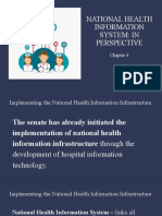 Chapter 4 - National Health Information System