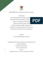 PRIMEROS PROYECTOS CONSTITUCIONALES EN COLOMBIA  (1)