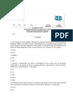DAVID E LAILSON- ATIVIDADE MOLARIDADE (CONCENTRAÇÃO EM MOLS POR LITRO)-RESIDÊNCIA PEDAGÓGICA