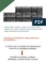 Aula 2 – Sistema Econômico