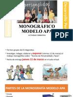 TRABAJO MONOGRAFICO DE PERSONALIDAD