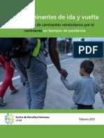 Caminantes de ida y Vuelta (Estudio UCAB)