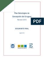 Plan Estratégico de Concepción del Uruguay 2010-2025