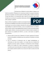 TIEMPO DE ACCIONES URGENTES-ComunicadoSociedadCivil-Venezuela30Abril