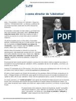 Serge July dimite como director de 'Libération' _ elmundo.es