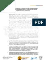 DIRECTRICES PARA DEVOLUCIÓN DE TEXTOS