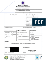 DCF- Several Forms - Batch 1 March 12, 2021