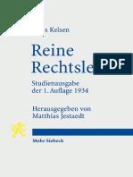 Reine Rechtslehre Hans Kelsen