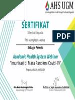 SERTIFIKAT Fitria Ayuning Astari, A.md.Keb
