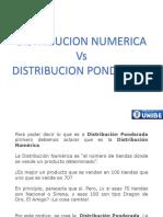 Distribucion Numerica y Ponderada