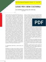 Palla, F. Biotecnologie Per i Beni Culturali 2006