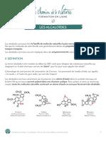 Formation du Cueilleur - Les alcaloïdes - 01 - hd