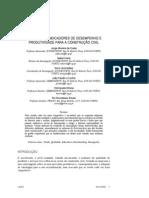 Sistemas de Indicadores de Desempenho e Produtividade para a Construção Civil