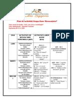 Plan de Activitati Grupa Mare 09-13.11.2020
