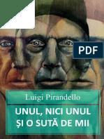Luigi Pirandello Unul Niciunul Si o Suta