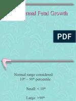 1.2 Abnormal Fetal Growth avenue