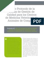 cv_43_Nuevo Protocolo de la Norma de Gestión de Calidad para los Centros de Medicina Veterinaria de Animales de Compañía
