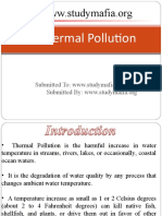 Thermal Pollution PPT