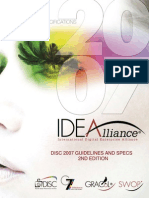 DISC 2007 Guidelines and Specifications, 2nd Edition