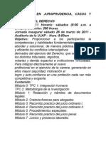 DIPLOMADO EN JURISPRUDENCIA