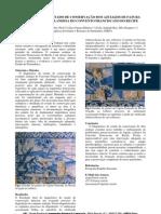 Bezerra, P. et al. Diagnostico do estado de conservaçao dos azulejos. 2006