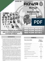 Manual Equipos Presurizadores MAXFLOW[1]
