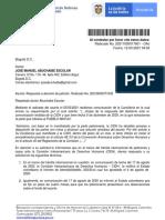 Respuesta Agencia Nacional de Defensa Sobre Proceso Cidh