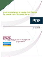 Restructuration de La Supply Chain Safran La Supply Chain Safran Au Maroc