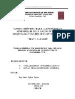 LIBRO MAQUINARIA Y EQUIPO