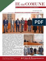 Notizie Dal Comune di Borgomanero del 12-03-2021