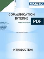 La communication Interne CGS
