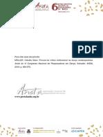 PROCURA-SE CRÍTICA INSTITUCIONAL NA DANÇA CONTEMPORÂNEA