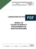 AYD-PAT-MN-1 MANUAL DE CALIDAD DEL LABORATORIO PATOLOGIA V2(1)