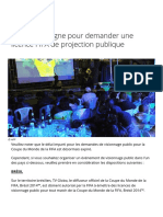 Coupe du Monde de la FIFA, Russie 2018™ - Infos - Système en ligne pour demander une licence FIFA de projection publique - FIFA.com