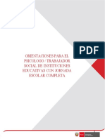 TOE-Orientaciones Para El Psicólogo o Trabajador Social