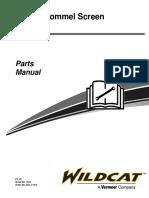 Manual de partes TR516  SN 1501- Wildcat