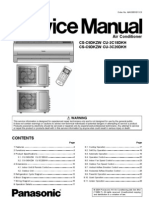 LG Split Type Air Conditioner Complete Service Manual | Air
