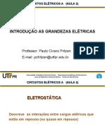 AULA_2_ELETROSTATICA_CORRENTE_POTENCIAL_ELETRICO