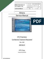 HTC Athena X7500 Service Manual & Repair Guide