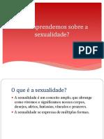 Como aprendemos sobre sexualidade_Aula da matéria de Psicologia, sexualidade e gênero