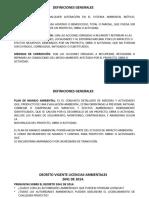 DECRETO DE LICENCIAS AMBIENTALES