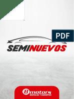 Catalogo Seminuevos 2021